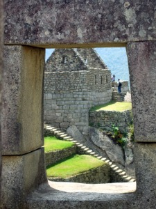 Window-within-window, Machu Picchu, Peru